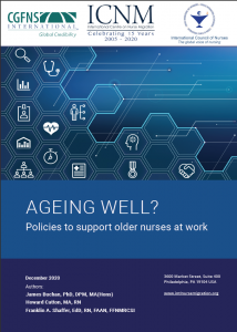 Cover of Ageing Well? Report